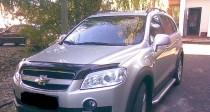 Мухобойка капота Шевроле Каптива (дефлектор на капот Chevrolet Captiva)