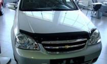 Мухобойка капота Шевроле Лачетти седан (дефлектор на капот Chevrolet Lacetti sd)