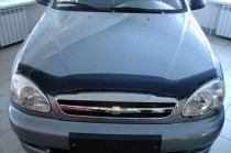 Мухобойка капота Шевроле Ланос (дефлектор на капот Chevrolet Lanos)