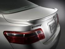 Накладка на кромку багажника Тойота Камри 40 (купить спойлер для