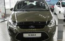 Дефлектор капота Форд S-Max 1 рестайлинг (мухобойка на капот Ford S-Max 1 с 2010-)