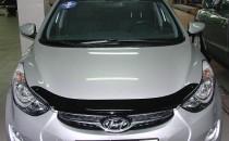 Мухобойка капота Хендай Элантра 5 МД (дефлектор на капот Hyundai Elantra 5 MD)