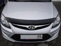 Мухобойка капота Хендай Ай 30 (дефлектор на капот Hyundai i30 FD)