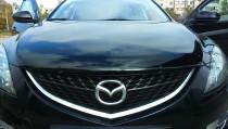 Мухобойка капота Мазда 6 GH (дефлектор на капот Mazda 6 GH)