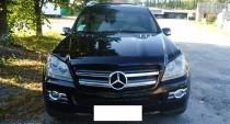 Мухобойка капота Мерседес GL 164 (дефлектор на капот Mercedes GL-Class X164)