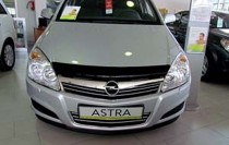 SIM Мухобойка капота Опель Астра Н (дефлектор на капота Opel Astra H)