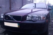 Купить передние реснички на фары Volvo S80 (установка на фары ав