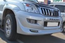 Купить обвес бамперов Toyota Land Cruiser Prado 120 (фото обвеса