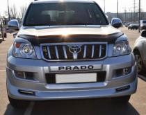 Накладки на бампера Тойота Ленд Крузер Прадо 120 (магазин Expres
