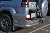 Тюнинг обвес на бампер Toyota Land Cruiser Prado 120 (фото от Эк