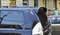 Заказать спойлер для Toyota Land Cruiser Prado 120 (козырек Тойо