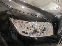 Реснички на фары Тойота Рав 4 (накладки фар Toyota Rav 4)