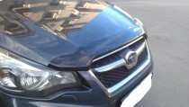 Дефлектор капота Субару Импреза 4 (мухобойка Subaru Impreza 4)