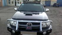 Дефлектор капота Тойота Хайлюкс 7 (мухобойка Toyota Hilux 7)