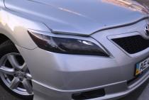 Реснички на фары Тойота Камри 40 (Реснички Camry V40 до низа фары у решетки)