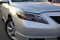 Тюнинг накладки на фары Toyota Camry V40 (оригинальные реснички