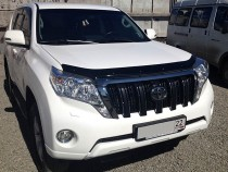 Мухобойка Тойота Ленд Крузер Прадо 150 (дефлектор капота Toyota Land Cruiser Prado 150)