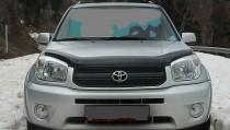 Мухобойка Тойота РАВ-4 2 (дефлектор капота Toyota RAV4 2)