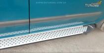 заказать Пороги Mercedes Vito W639 стиль Almond серые