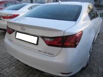 Лип спойлер на багажник Лексус GS 350 (лип спойлер Lexus GS 350)