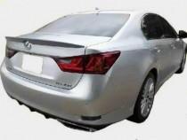 Лип спойлер для Лексус GS350 (фото спойлера на Lexus GS350)