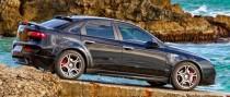 Купить спойлер на заднее стекло Alfa Romeo в кузове 159