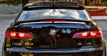 Спойлер на стекло Alfa Romeo 159 (бленда козырек)