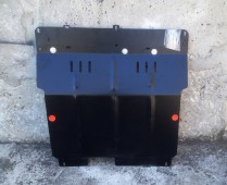 Защита двигателя Пежо 107 (защита картера Peugeot 107 увеличенная)