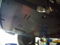 Защита двигателя Фольксваген Т5 (защита картера с боковыми крыль