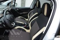 Чехлы Пежо 2008 (авточехлы на сиденья Peugeot 2008)