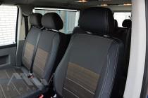 Чехлы MW Brothers Чехлы Фольксваген Т5 Каравелла (авточехлы на сиденья Volkswagen T5 Caravela)