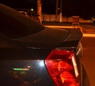 Спойлер утинный хвостик на багажник Лачетти седан