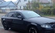 Ветровики Ауди А4 Б8 (дефлекторы окон Audi A4 B8)