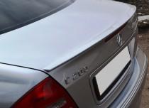 Лип спойлер на крышку багажника Мерседес W203 кузов (C-Class