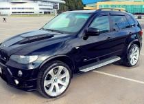 Ветровики БМВ Х5 Е70 (дефлекторы окон BMW X5 E70)