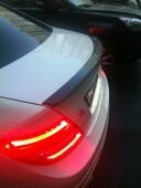 Накладка на крышку багажника Мерседес W204, AMG Style (ExpressTu