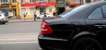 купить Спойлер Mercedes W211 (задний спойлер на багажник Мерседе