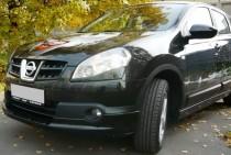 Купить нижние реснички на фары Nissan Qashqai (ExpressTuning)