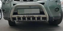 Кенгурятник Ниссан Х-Трейл Т31 (защита переднего бампера Nissan X-Trail T31)