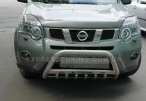 защита переднего бампера Nissan X-Trail T31