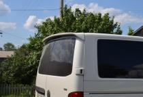 Задний спойлер на Фольксваген Транспортер Т5 две двери (спойлер Volkswagen T5 распашенка)