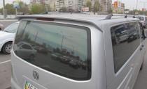Тюнинг спойлер задней двери на Фольксваген Транспортер Т5 (лип с