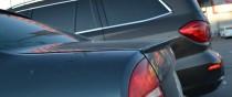 Накладка на крышку багажника Volkswagen Passat B5 (спойлер Пасса