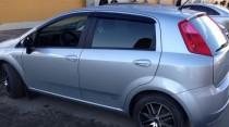 Ветровики Fiat Grande Punto 5d (дефлекторы окон Фиат Гранде Пунто)