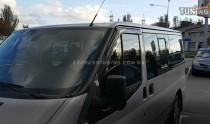 Ветровики Форд Транзит 6 (дефлекторы окон Ford Transit 6)