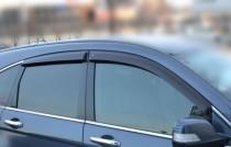 Ветровики Хонда СРВ 3 (дефлекторы окон Honda CR-V 3)