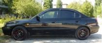 Ветровики Хендай Элантра 3 седан (дефлекторы окон Hyundai Elantra 3)
