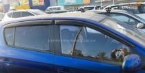 Ветровики Хендай i20 1 (дефлекторы окон Hyundai i20 1 5d)