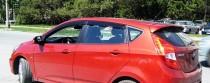 Ветровики Хендай i30 1 (дефлекторы окон Hyundai i30 FD)