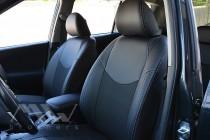 Чехлы в салон Тойота Рав 4 3 (чехлы на Toyota Rav4 III)